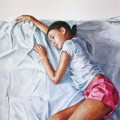 Sara - oil on canvas - 100x100cm - 2012