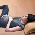 Attesa - oil on paper - 100x150cm - 2012