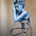 Alice - oil on paper - 70x100cm - 2012