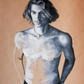 Andrea - oil on paper - 2012