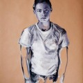 Sara - oil on paper - 70x100cm - 2012